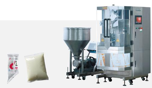 Slant Cornered Bag Vertical Packaging Machine