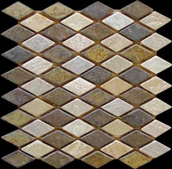 Slate Mosaic Culture Stones Wall Panels Ledge