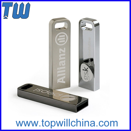 Slim Metal Rectangular Usb 3 0 Flash Drives High Speed Safe Data