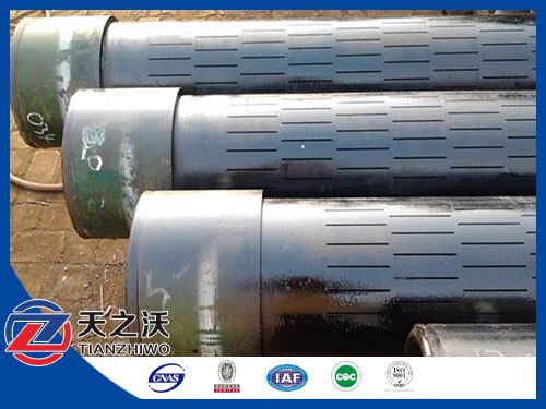 Slotted Liner Pipe Water Oil Well Casing