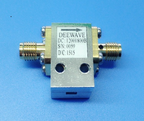 Sma Female Coaxial Isolator 12 18 Ghz