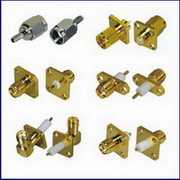 Sma Rf Coaxial Connector For Cable And Pcb