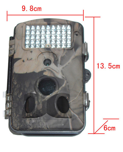 Small Order Are Available12mp Digital Infrared Trail Camera With Sms Gprs Function