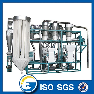 Small Scale 10 Tons Per Day Wheat Flour Milling Machine