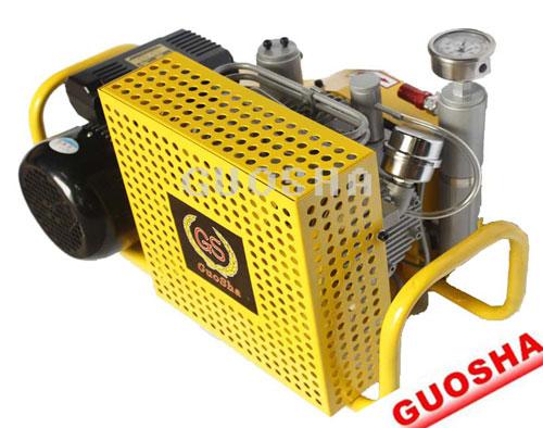 Small Size Diving Compressor 200 Bar 20 Mpa 4500psi 100l Min 440v 60hz 220v 380v 50hz Gasoline