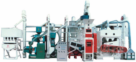 Small Size Rice Milling Machine Paddy Processing