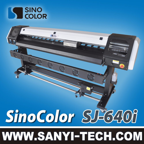 Small Vinyl Printer 1 6 Meter With Epson Dx7 Head Sinocolor Sj 640i