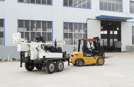 Small Water Well Drilling Rig Sly400 T