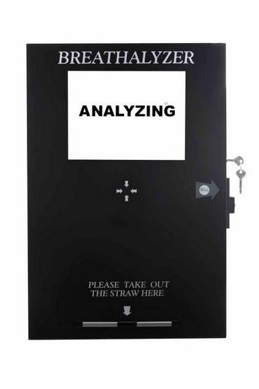 Smart Vending Breathalyzer With Lcd Tv 65288 Fuel Cell Sensor Model 65289