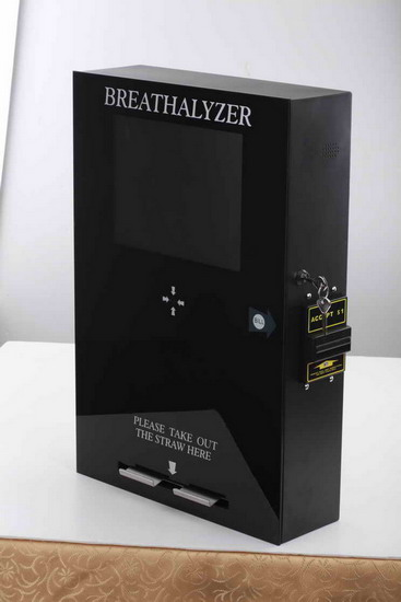 Smart Vending Breathalyzer With Lcd Tv 65288 Fuel Cell Sensorl 65289