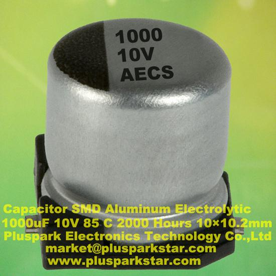 Smd Electrolytic Capacitor 1000uf 10v