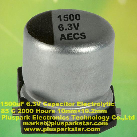 Smd Electrolytic Capacitor 1500uf 6 3v