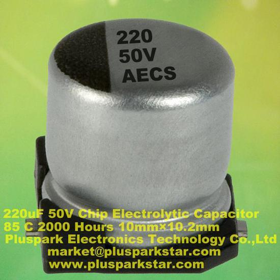 Smd Electrolytic Capacitor 220uf 50v