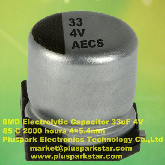 Smd Electrolytic Capacitor 33uf 4v