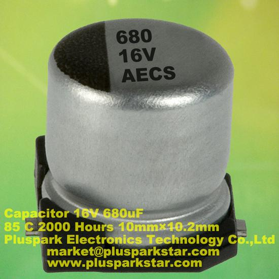 Smd Electrolytic Capacitor 680uf 16v
