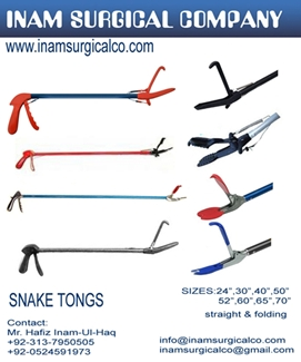 Snake Tong For Sale And Brief Description Below