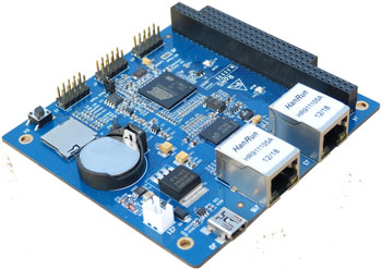 Soc Sam9x25 Atmel Series At91sam9x25 Industrial Pc Board 128ram 256 Flash Can Bus Serial Port