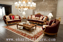 Sofa Leather Furniture Living Room Ff 138