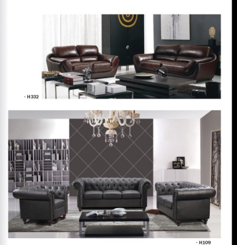 Sofa Sets With Leather Cover Modern