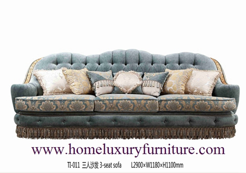 Sofa Supplier Price Sets Living Room Sofas Fabric Classical Ti011