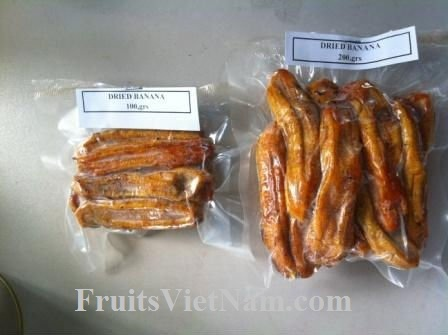 Soft Dried Banana In Vietnam