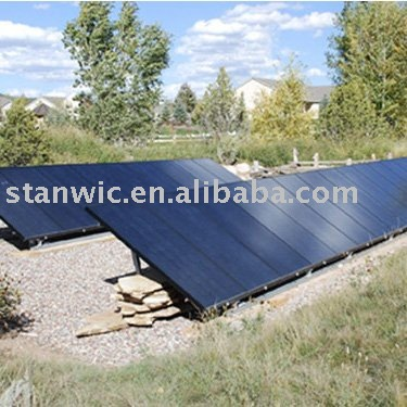 Solar Ground Tracking System Tracker Generator
