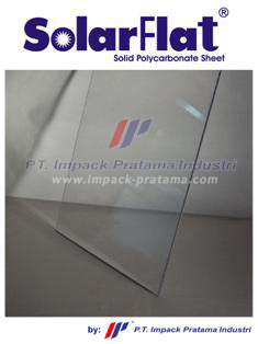 Solarflat Solid Polycarbonate Roofing