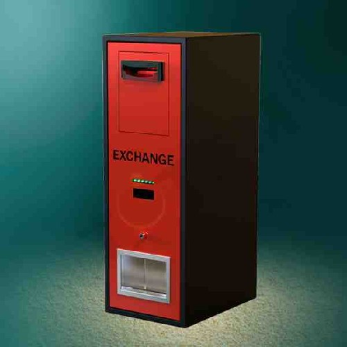 Solid Housing Coin Exchange Machine