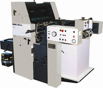 Solna125 483x640mm Sheet Fed Offset Printing Press