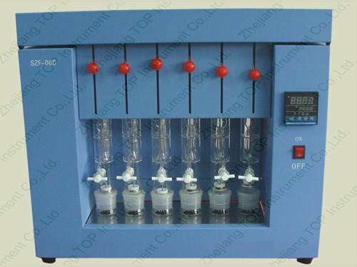 Soxhlet Extraction Fat Analyser Szf 06a