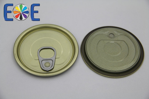 Spain 211 Tinplate Luncheon Meat Can Lid Manufacturer