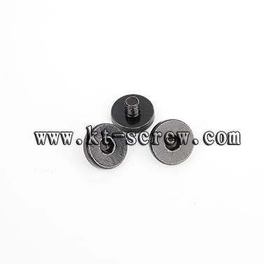 Special Custom Screw Of Black Big Head Guide Rail