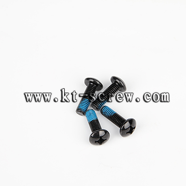 Special Custom Screw Of Black Nylok Furniture