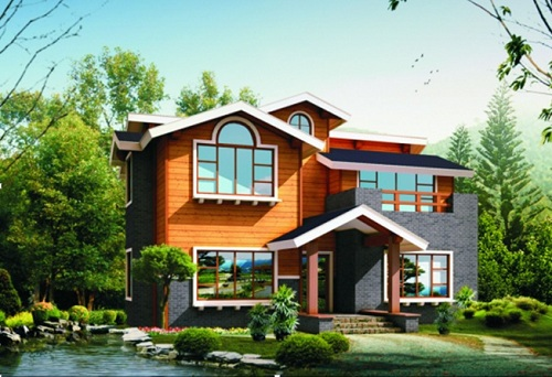 Spf Hot Sell Wooden House Dy D 092