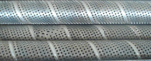 Spiral Welded Perforated Pipe With Various Perforation Patterns