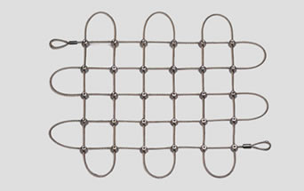 Square Cable Mesh Galvanized And Stainless Steel