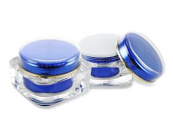Square Cosmetic Container For Personal Care