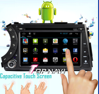 Ssangyong Kyron Actyon Car Dvd Player With Android 4 1 Version A9 Dual Core 1ghz Cpu Processor And D
