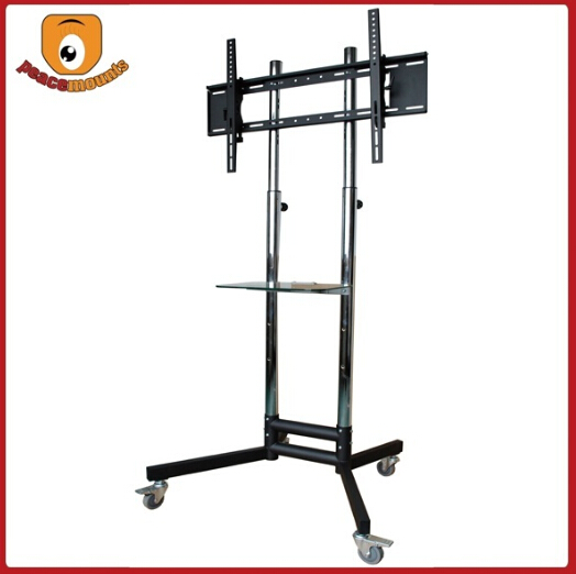 St 1800 Kunshan Changhe Tempered Glass Dvd Movable Tv Floor Stand