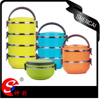Stainless Steel Bento Children Lunch Box School Food Container