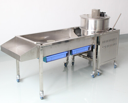 Stainless Steel Big Popcorn Making Machine