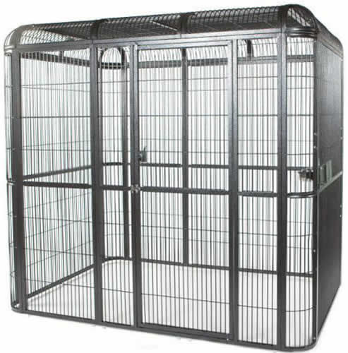 Stainless Steel Bird Cage With A Lifespan For Housing Birds