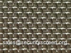 Stainless Steel Window Screen 1