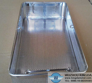 Stainless Sterilization Perforated Baskets