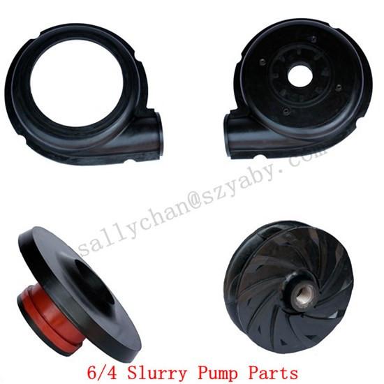 Standard Slurry Pump Replacement Spare Parts