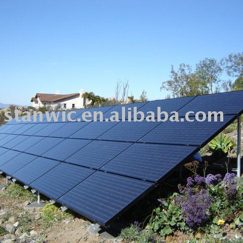 Stanwic Ground Pv Mount 4kw Solar System