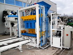 Stationary Concrete Block Makingplant Economic 400