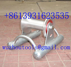 Steel Buried Cable Roller Turtle For Well Head