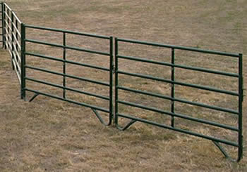 Steel Corral Panels For Confining Livestock