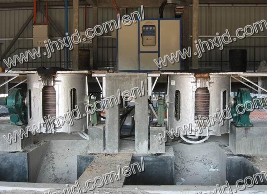 Steel Induction Melting Furnace 500kg